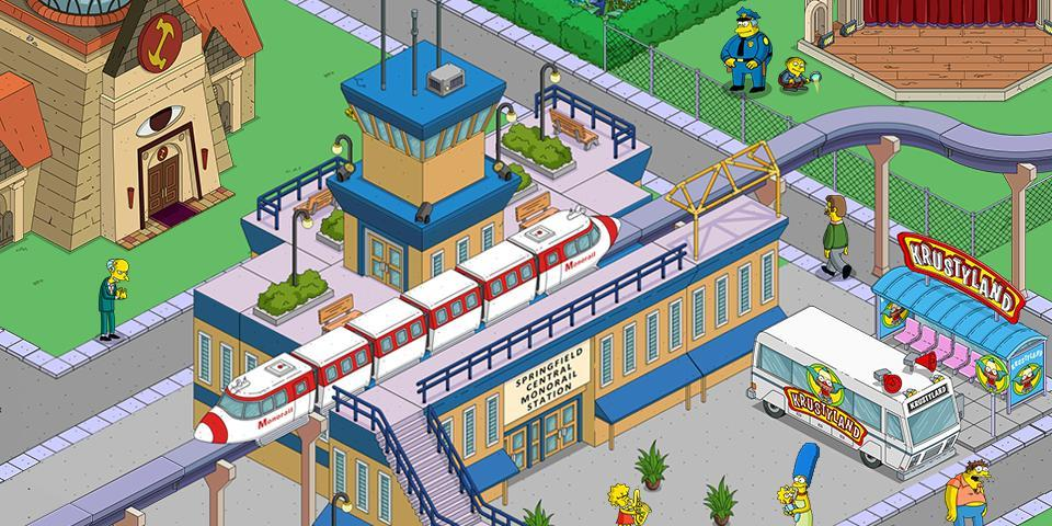 the simpsons tapped out мод